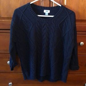 Old navy cable knit sweater size med